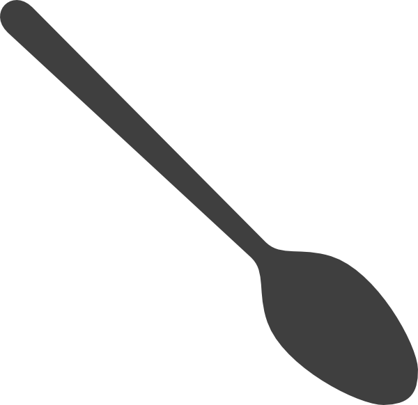 Spoon Clip Art at Clker.com.