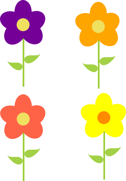 Animated Spring Flowers.
