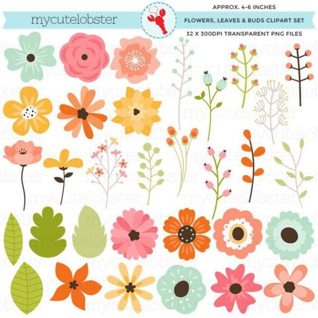 2019 Best Spring Flowers Clip Art Images And Outfits.