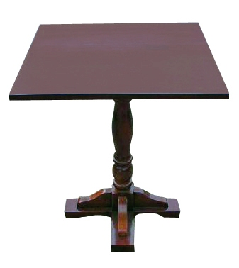 Small square table clipart clipground small square pedestal table dark walnut watchthetrailerfo