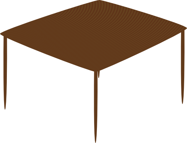 Small Square Table Clip Art at Clker.com.