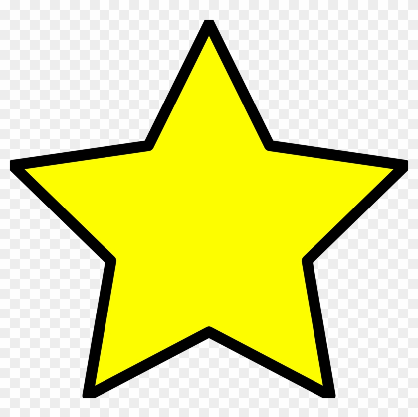 Small Yellow Star Clipart.