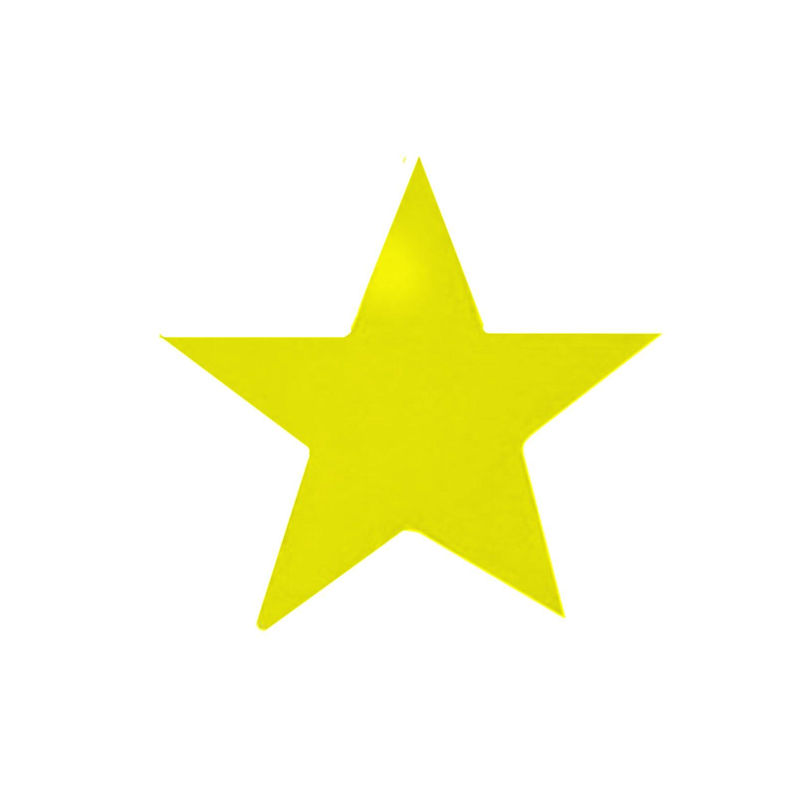 Small Gold Star Clip Art free image.