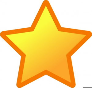 Small Star Clipart.