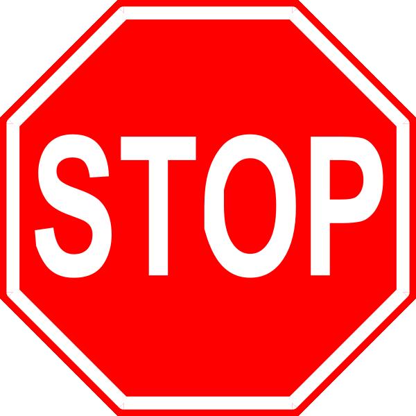 Stop Sign 2 Clip Art at Clker.com.