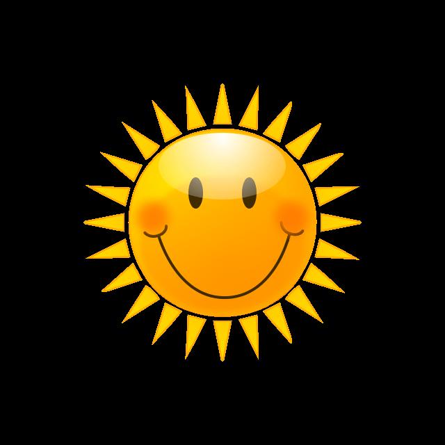 Small Sun Clipart.