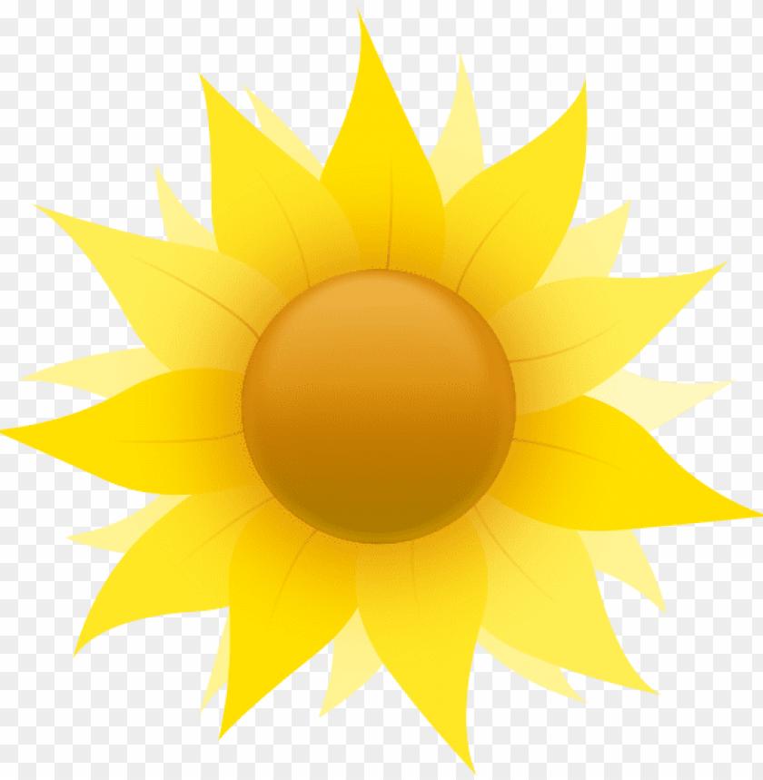 free sunflower clipart public domain flower clip art.