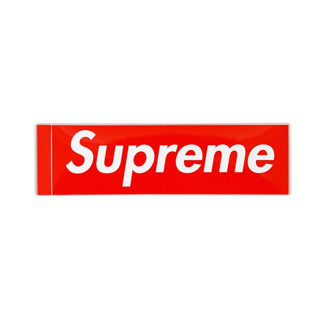 Supreme Box Logo Sticker.