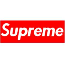 Supreme small box Logos.
