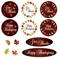 Thanksgiving Clipart Free Vector Art.