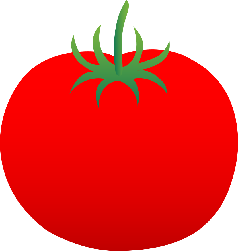 No Tomatoes Small Clipart.
