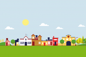 Small town clipart » Clipart Station.