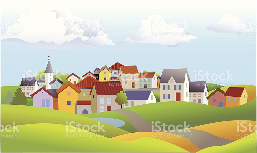 Village Clip Art, Vector Images & Illustrations.
