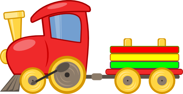 Cartoon Train Clip Art at Clker.com.