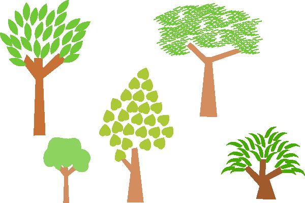 Trees Clip Art at Clker.com.