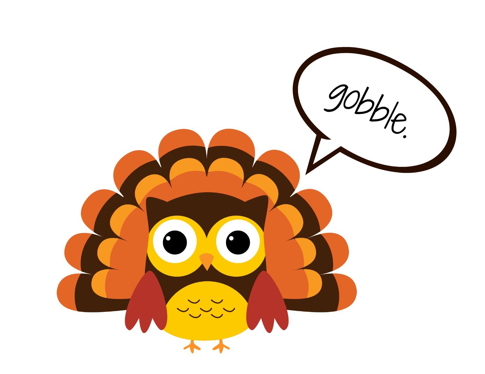 18+ Cute Turkey Clipart.