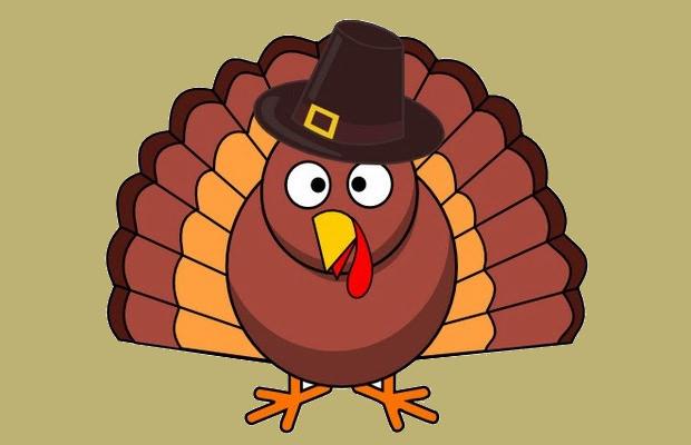 Small turkey clipart.