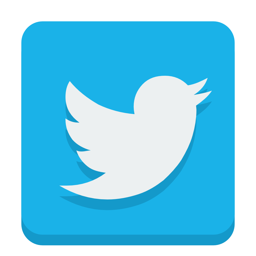Social twitter Icon.