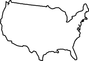 Us Map Clip Art.