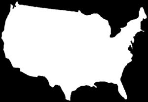 Us Map Clip Art.