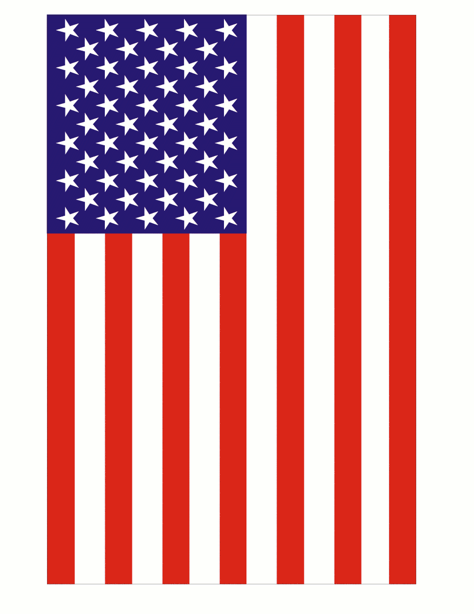 Image american flag small clip art.