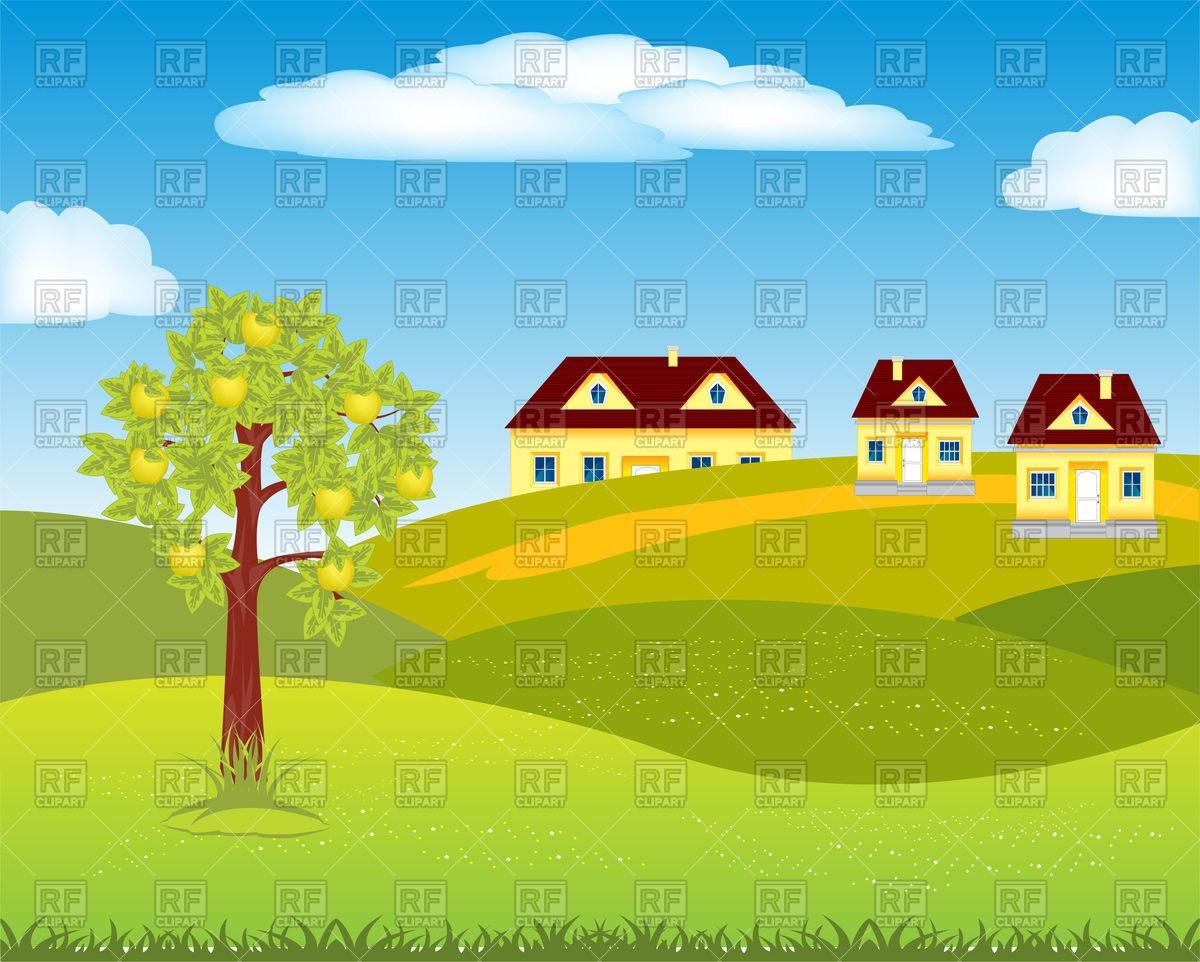 Small village clipart 3 » Clipart Portal.