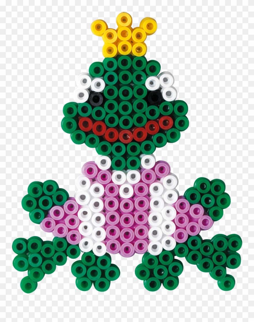 Frog Hama Beads.