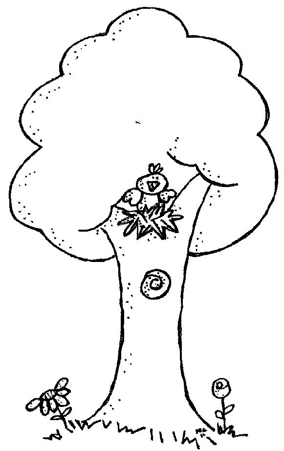 Clip Art. Tree Clipart Black And White. Stonetire Free Clip Art Images.