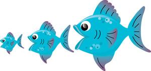 Small Fish Clipart.
