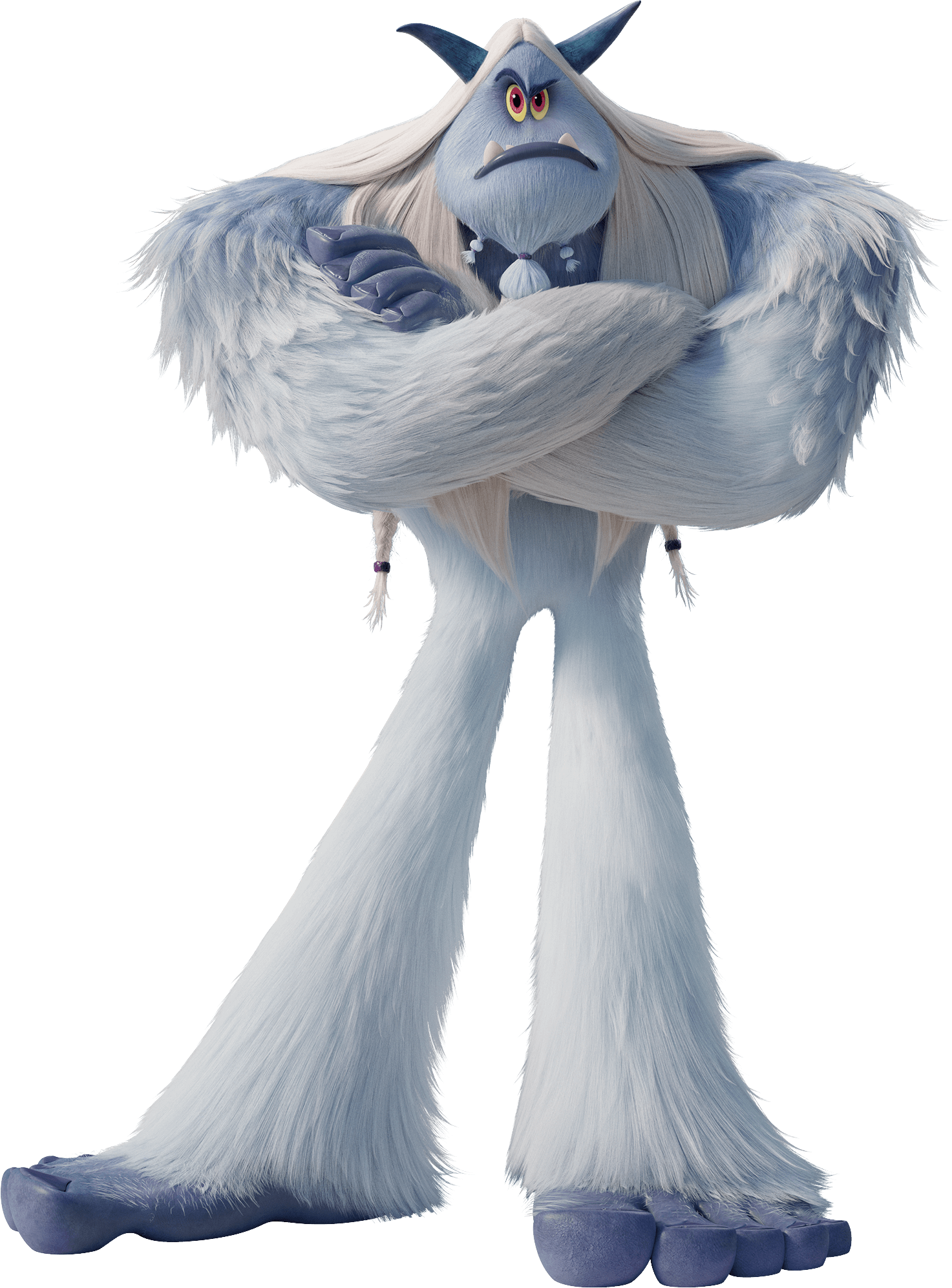 Smallfoot Thorp Yeti transparent PNG.