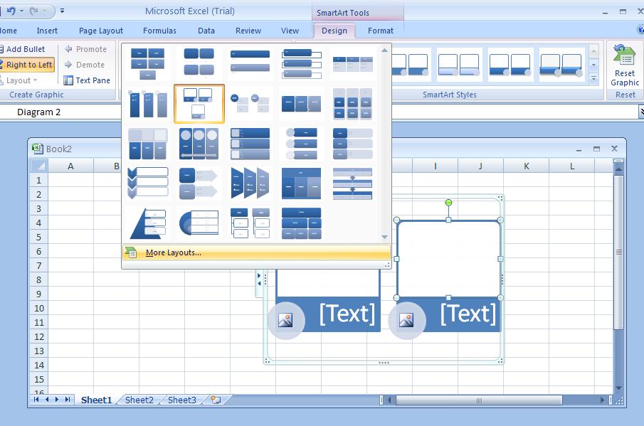 Change a SmartArt Graphic Layout : SmartArt « Wordart Clip Art.