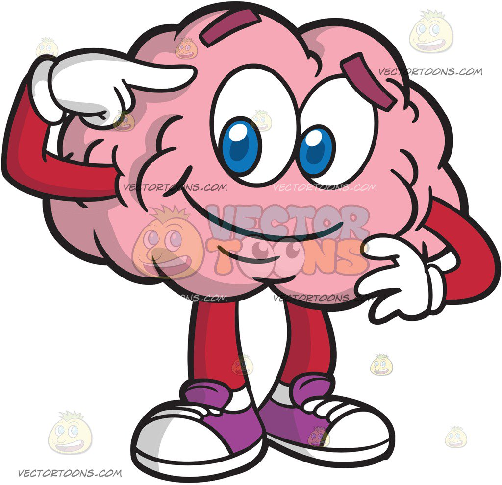 Smart brain clipart 2 » Clipart Station.