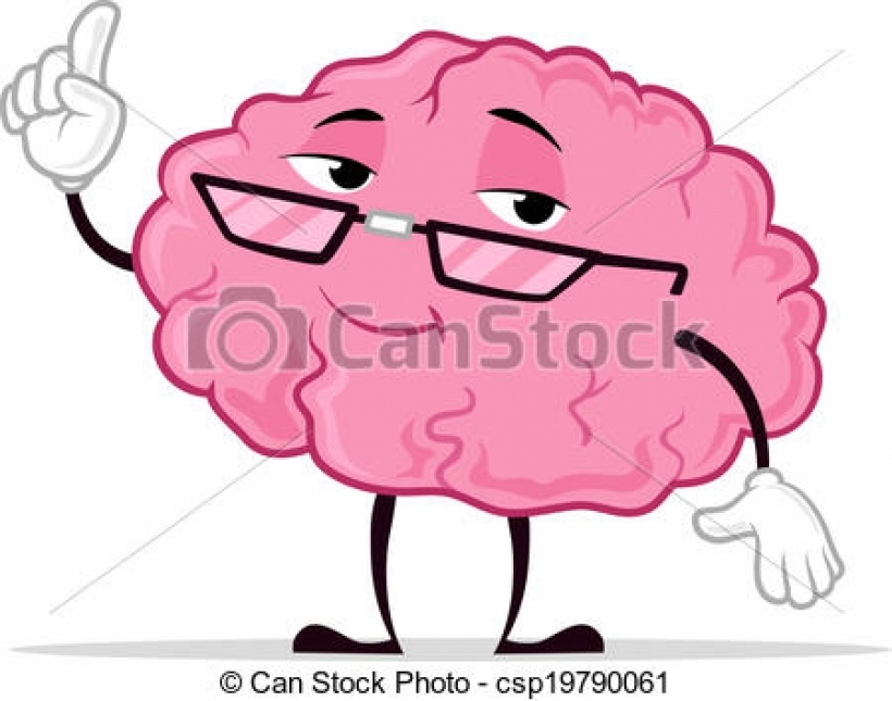 smart brain clipart smart brain clipart clip art vector of smart.