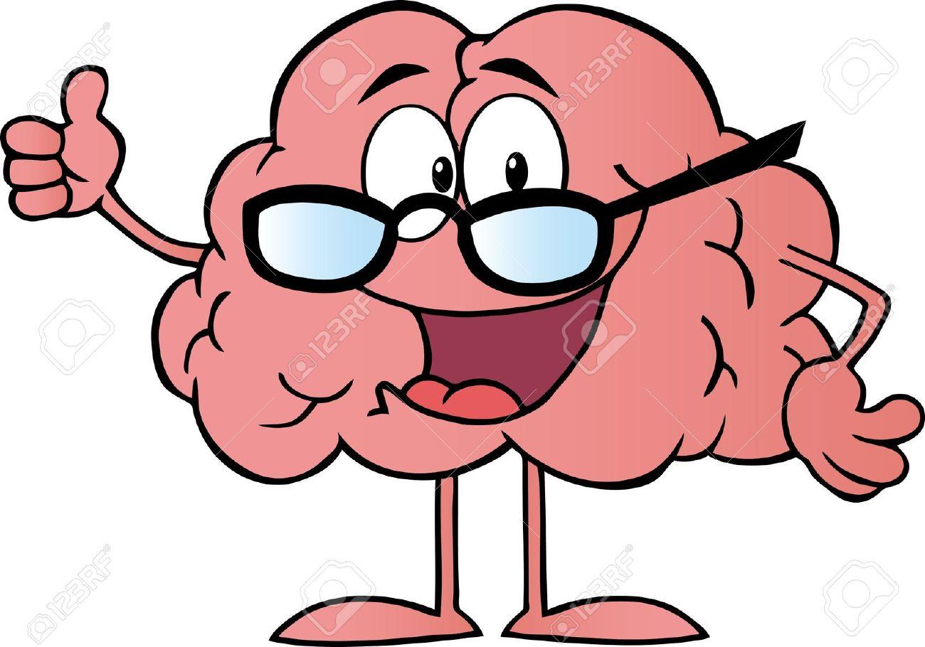 Smart Brain Clipart #1.