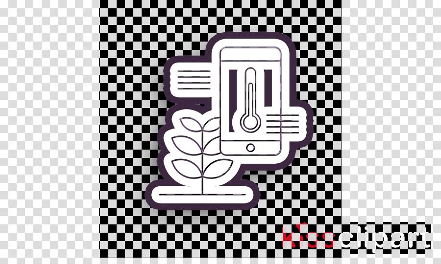 agriculture icon humidity icon smart farm icon clipart.