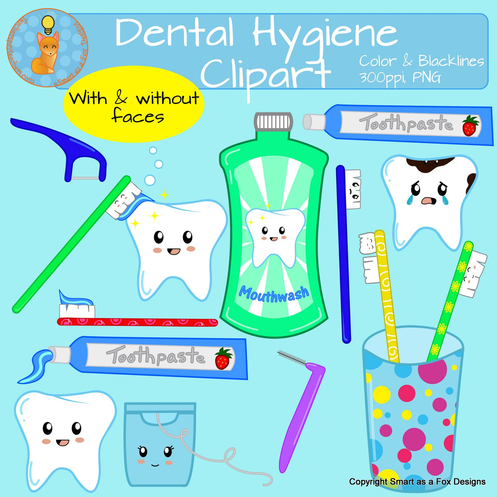 Dental Hygiene Clipart.