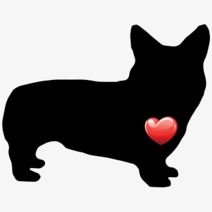 Clip Art Corgi Dogs Pictures.