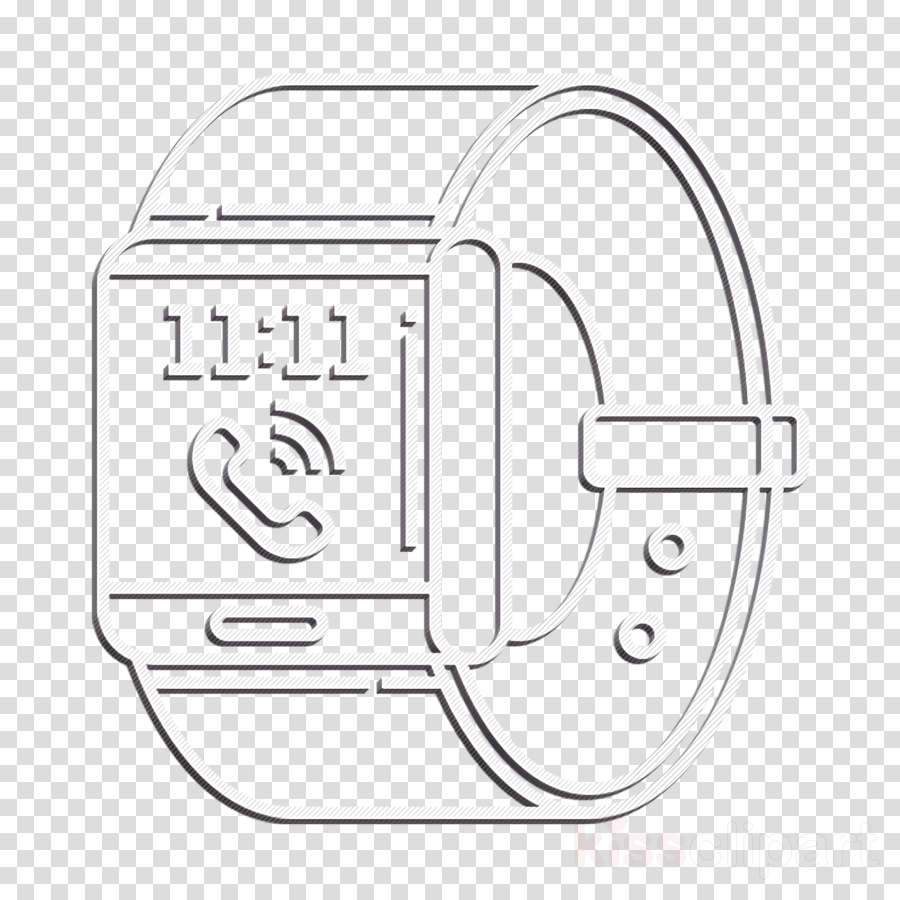clock icon smart icon technology icon clipart.