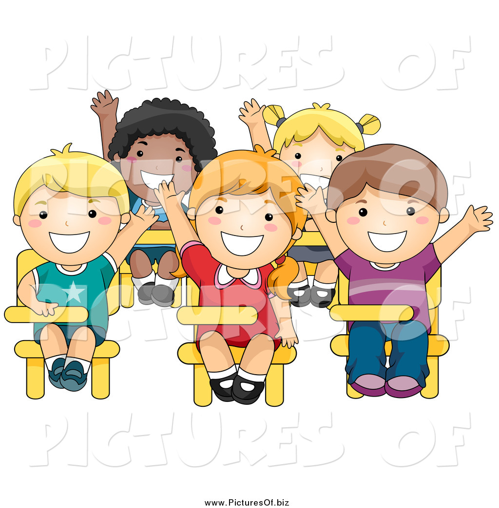 Smart Students Clipart.