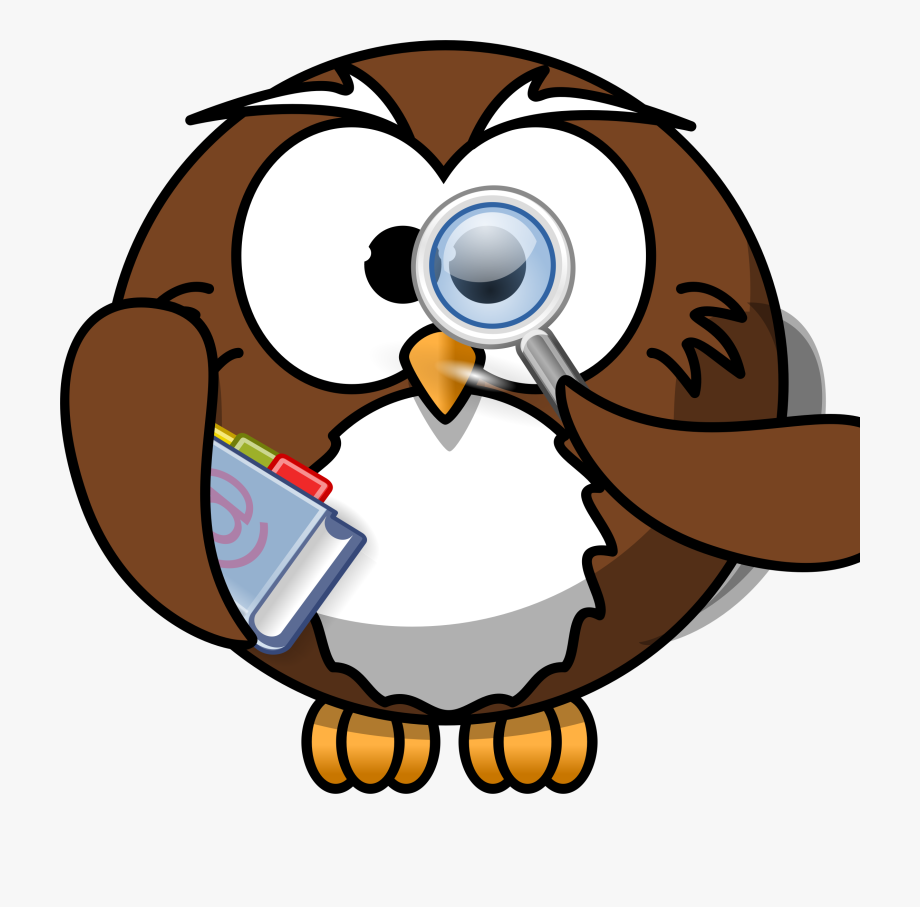 Smart Clipart Smart Owl.