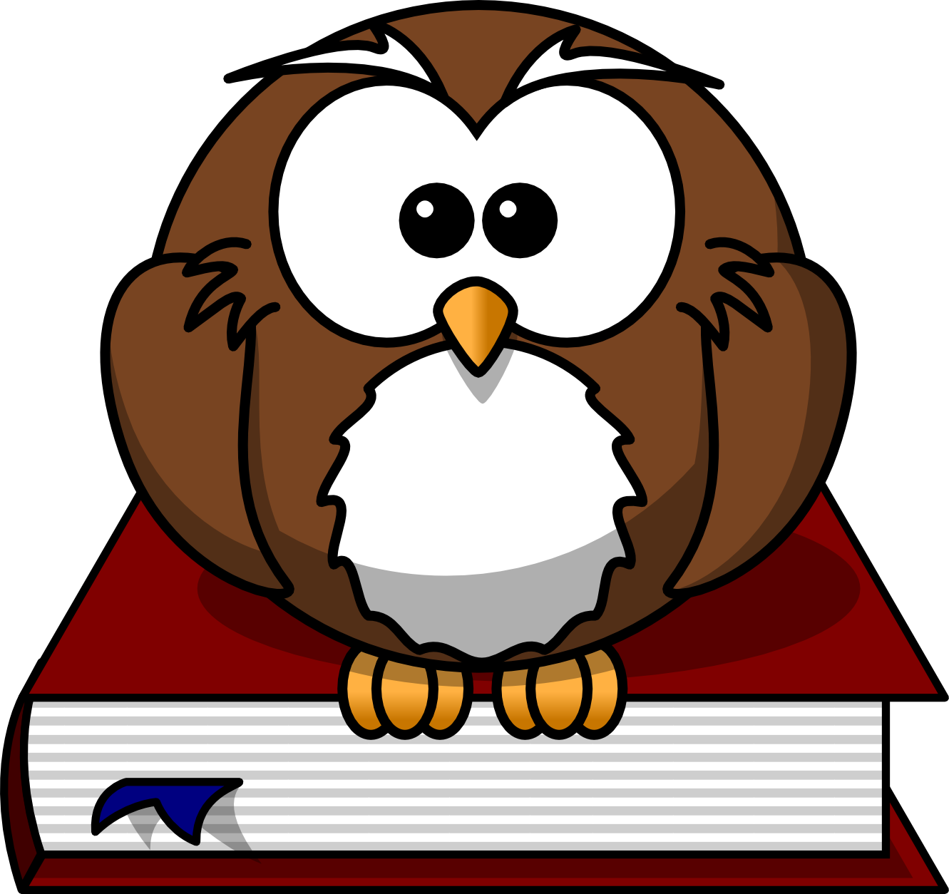 Smart Owl Clipart.