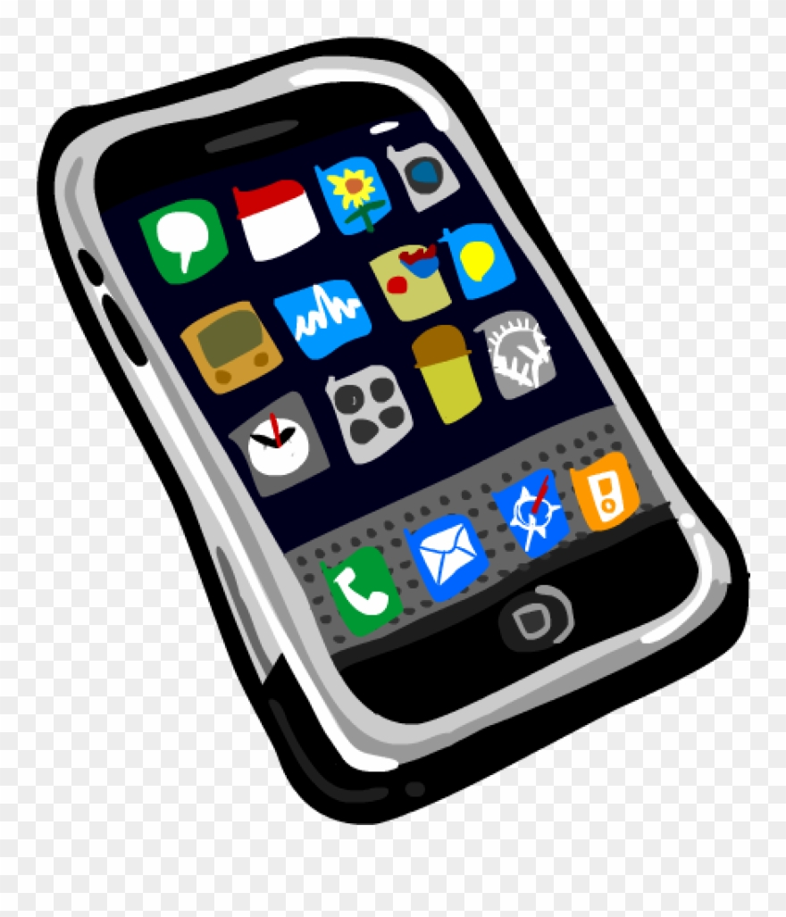 Cell Phone Clipart Smart Phone Clipart Smartphone Cell.