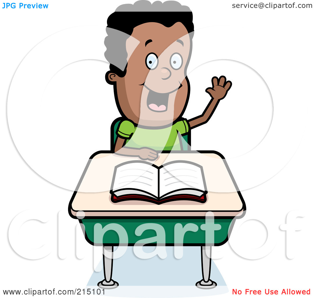 Smart Student Clipart Black And White.