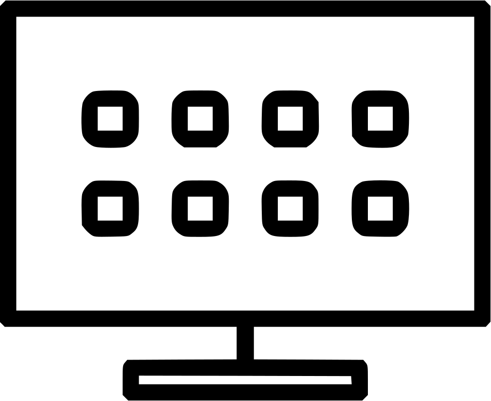 Smart Tv Svg Png Icon Free Download (#446051.