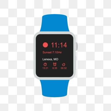 Smart Watch PNG Images.