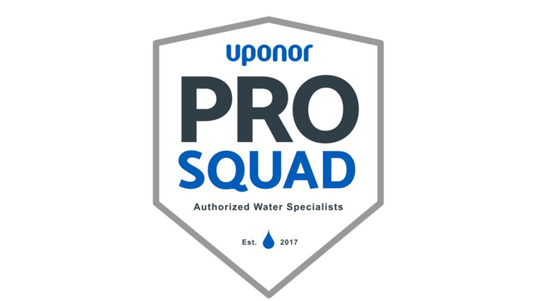 Uponor Forms \'Pro Squad\' — Elite Network will Promote.