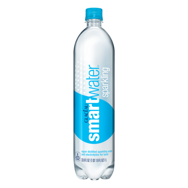 smartwater Sparkling (1 L) from Fairway Market.