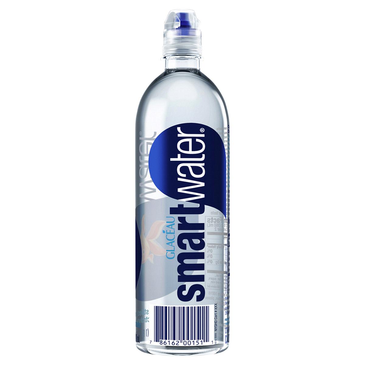 Smartwater 23.67 oz. bottle Water.