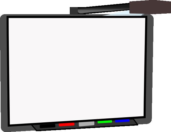 Small Smart Board Blank Clip Art at Clker.com.
