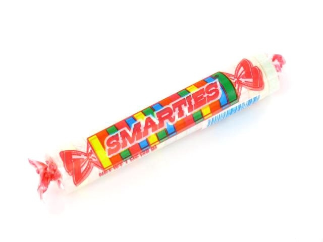 Smarties Candy Clipart.